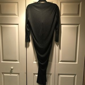 Yves Saint Laurent Dresses - YVES SAINT LAURENT YSL Black front knotted dress